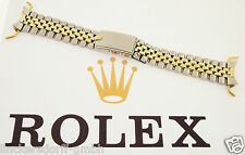 Rolex estados unidos-Jubilee pulsera en acero inoxidable/14ct oro - 1960er - 20mm-gmt Datejust