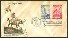1959 Philippines 10th World Jamboree First Day Cover B