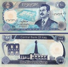 IRAQ 100 DINAR 1994 AUNC / UNC  P.84 WITH SADDAM HUSSEIN