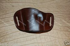 Taurus 1911 with Rail Belt Slide Leather Gun Holster Left Hand Made In U.S.A.