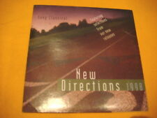 Cardsleeve Full CD SONY CLASSICAL NEW DIRECTIONS PROMO 1998 12TR