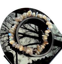 Bracelet en Labradorite en Pierre Naturelle Bijoux Minéral Femme Lithothérapie