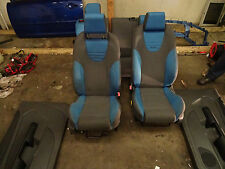 Ford focus ST225 blue recaro full cloth interior seats front rear 05-10 st 3door