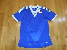 NWT ADIDAS Camp 13 Formation Blank Blue Soccer Jersey Kit Mens XL msrp $55