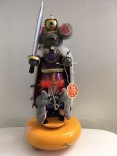 "Steinbach The Mouse King Musical Plays The Nutcracker 13"" Limited Edition"