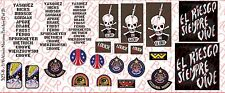 1/6 Scale Decals: Aliens Colonial Marines Patches - Waterslide Decals