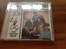 NOAH & THE WHALE 'LAST NIGHT ON EARTH' NEW CD SIGNED BY THE BAND - FREE POST