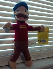 CURIOUS GEORGE PLAYING BASEBALL 9 INCHES CAP BALL RED SHIRT
