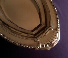 French Art Deco Oval Silver Serving Dish – Tableware Kitchen & Home