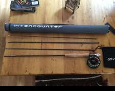 Fly Fishing Rod And Reel Combination Orvis Combo Kit Gear Encounter Reel Line
