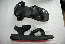 Black Webbed Strap Open Toe SPERRY Sandals US Man 11