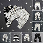 Newborn Infant Baby Boy Girl Leggings Harem Long Pants Toddler Trousers Tights