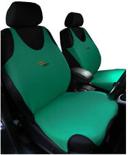 2 GREEN FRONT VEST  CAR SEAT COVERS FOR  TOYOTA RAV4