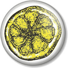 "The Stone Roses Lemon 25mm 1"" Pin Button Badge Logo Symbol Band Group Ian Brown"