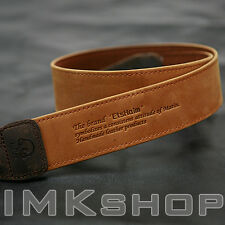 NEW MATIN Vintage-38 TAN Leather Camera Strap for Canon Nikon Sony Fuji DSLR SLR