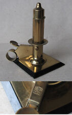 ANTIQUE GERMAN TABLE BRASS PETROL CIGARETTE LIGHTER PATENT KASCHIE 1947 / SPARKS