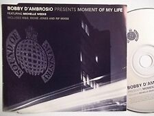 Bobby D'Ambrosio moment of my life (1997, feat. Michelle Weeks) [Maxi-CD]