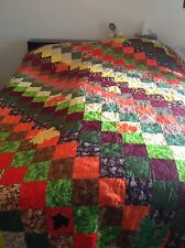 Autumn Leaves Quilt, King Size