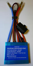 MARINE 50A BRUSHED ELECTRONIC SPEED CONTROL WITH REVERSE  ESC