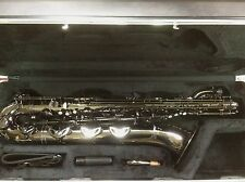 New Antigua Pro Powerbell Baritone Saxophone in Black Nickel 4240BN w/ Low A