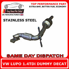 Seat Arosa 1.4TDi Dummy Decat Replacement Cat Exhaust Pipe, Stainless Steel