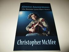 Almost Anonymous The Ronnie Lynn Bass Story BOOK by Christopher McAfee 2012 NEW
