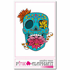 Frankly 13 - A4 - Aufkleber - 20 cm - Dia de los muertos Day of the Dead Sticker