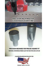 PRESS DIE LEATHER PUNCH HOLDER SET FITS CRAFTOOL TYPE PRESSES - COSTS LESS! MNI