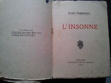 AMALIA GUGLIELMINETTI L'INSONNE 1913 FUTURISMO - MANCA LA COPERTINA