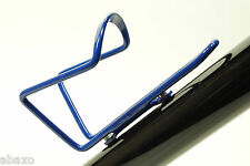 BLUE ALUMINUM BIKE BICYCLE WATER BOTTLE HOLDER CAGE NEW