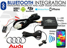 AUDI TT streaming BLUETOOTH VIVAVOCE CHIAMATE AUX MP3 iPhone iPod Sony HTC 2007 in poi