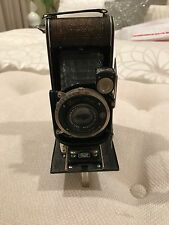 Vintage German Zeiss Ikon Compur Cocarette f=10.5 Tessar 1:4,5 Folding Camera