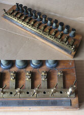 ANTIQUE ELECTROTECHNICAL INSTRUMENT DEVICE RESISTANCE CONTROLLER / ca 1890