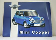 Classic MINI COOPER New Metal Sign