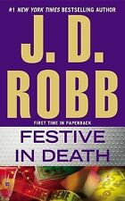 Festive in Death, Robb, J. D., Good Condition, Book