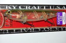 """lucky craft sammy 128 topwater lure 5"""" 1oz floating ghost lake mead walk the dog"""