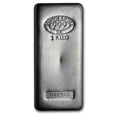 1 kilo Johnson Matthey Silver Bar - SKU #85203