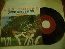 """LES SURF""""QUANDO DICO CHE TI AMO-disco 45 Giri FESTIVAL It 1967"""" ITALIAN VERSION"""