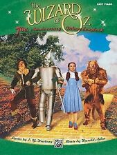 ALFRED PUBLISHING WIZARD OF OZ SEL 70TH ANNIVARY - PIANO SOLO Sheet music pop, r