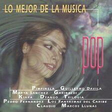 FREE US SH (int'l sh=$0-$3) NEW CD Various Artists: Mejor De La Musica Pop