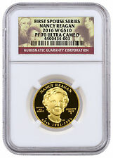 2016-W $10 1/2 oz. Proof Gold First Spouse - Nancy Reagan NGC PF70 UC SKU42717