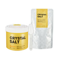 [Missha] Crystal Salt Body Oil & Scrub Mango