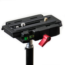 Rapid Connect Adapter +QR Sliding Mounting Plate for 501PL Manfrotto 501HDV 577