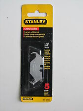 STANLEY 11-983, 2-Ended Large Hook, Utility Blade 5 Pack