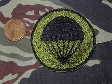 Philippines Army Round Airborne Parachute Beret Badge Green & Black patch