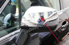 Side Mirror Cover trim for Subaru XV 2013-2015 ABS Chrome With Turning Light