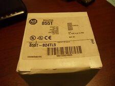 ALLEN BRADLEY 855T-B24TL5 AMBER  LED STACK LIGHT