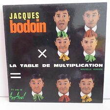 JACQUES BODOIN La table de multiplication ... FY 2161 M