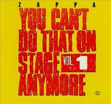 NEW You Can't Do That On Stage Anymore, Vol. 1 by Frank Zappa CD (CD) Free P&H