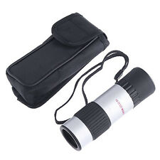 Mini Compact Pocket 15-55x Monocular Telescope For Camping Sport W/ Carrying Bag